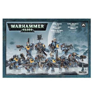 Games Workshop Warhammer 40000 40K Space Wolves Pack Grey Hunters Blood Claw 53-06
